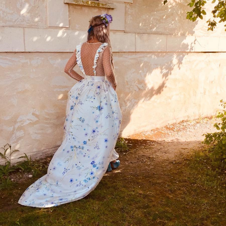 Bespoke Wedding Dress Print