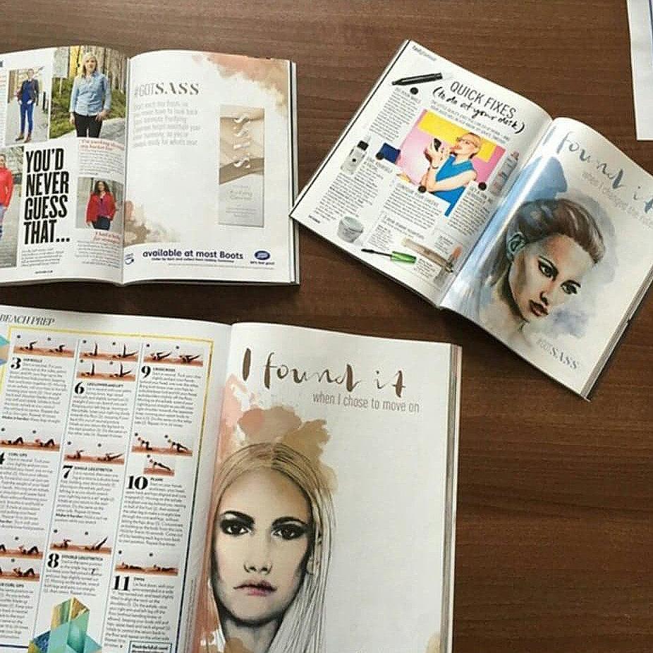 Magazine Advert Illustration